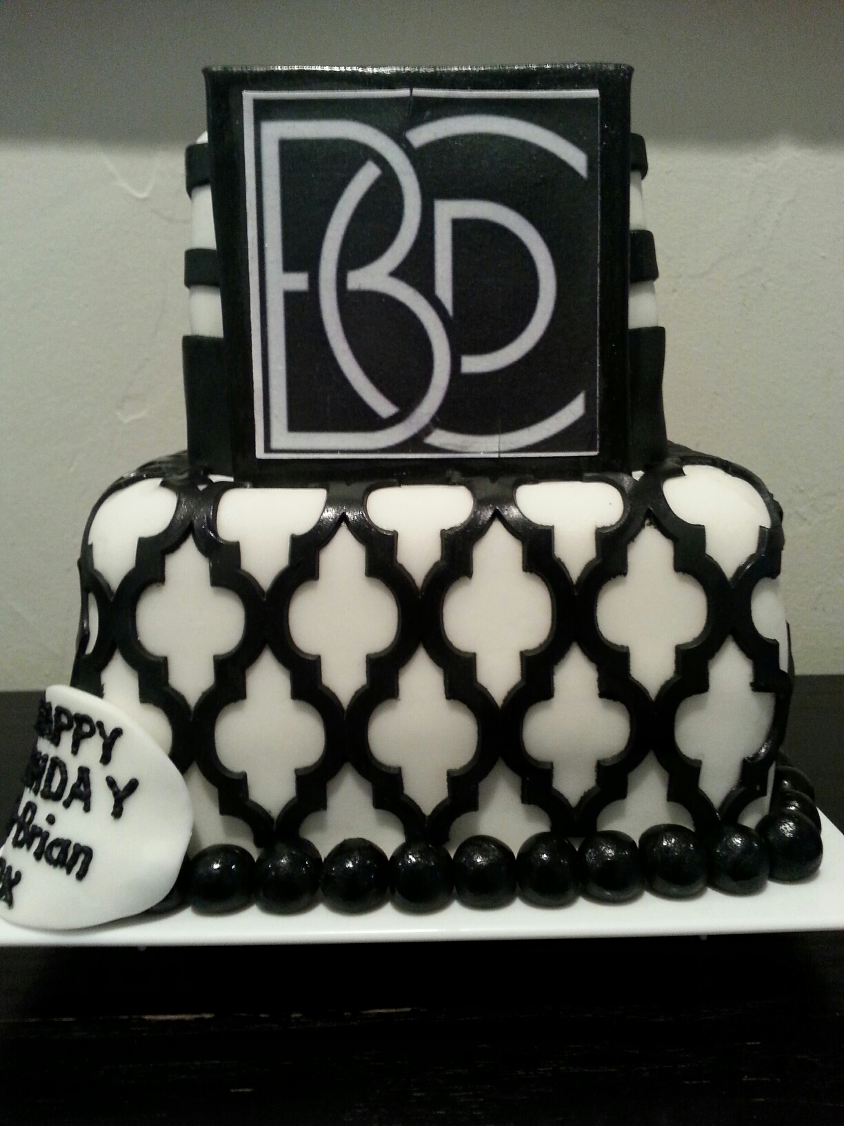 Custom Cake LJM Events 2
